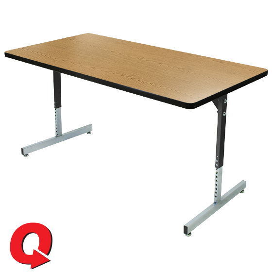 Quick Ship T Series Pedestal Tables