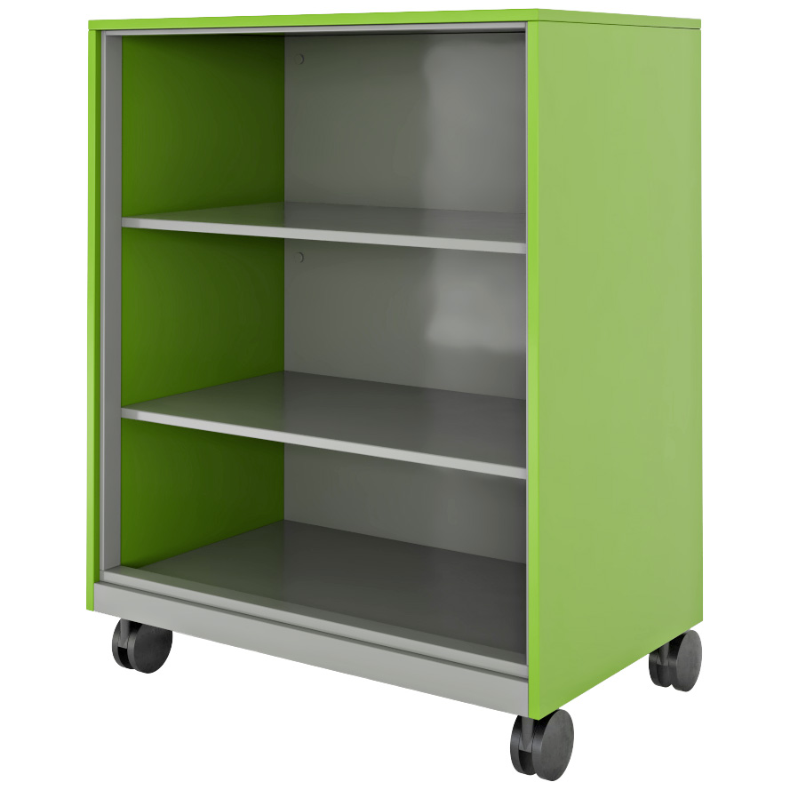Hutch Storage With Shelves
