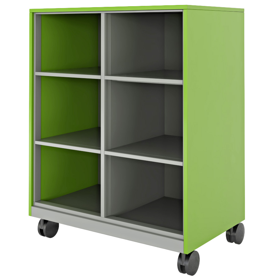 Hutch Storage With Cubbies