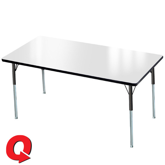 Quick Ship Classic Dry Erase Tables