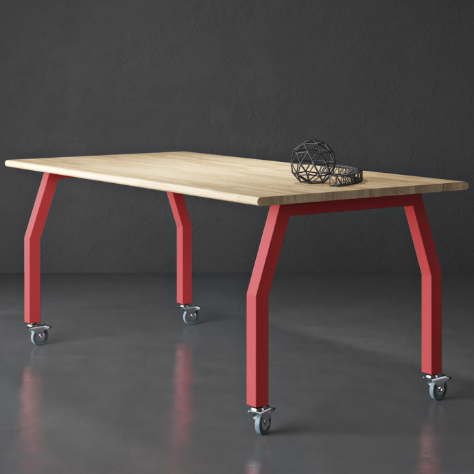 Innovation Maker Tables - Solid Wood Tops